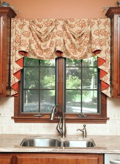 Kitchen Window Ideas (Modern, Large, and Small Kitchen Window Dressing Ideas. Kitchen Window Ideas (Modern, Large, and Small Kitchen Window Dressing Ideas) Modern Kitchen Curtains, Kitchen Curtains And Valances, Kitchen Window Coverings, Kitchen Window Treatments, Modern Curtains, Kitchen Modern, Kitchen Windows, Window Curtains, Minimalistic Kitchen