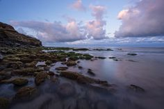 Calm Waters At Sunset Cliffs