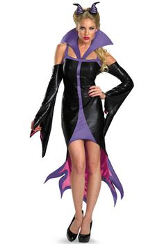 Disney Vile Villains Maleficent Sassy Adult Costume - Disguise