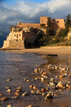 Fort of São João do Arade Algarve Ferragudo Lagoa Portugal.... #Relax more with healing sounds: