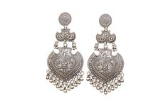 Silver Hasina Earrings