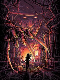 """One, Two, Freddy's Coming For You"" by Dan Mumford - Hero Complex Gallery, freddy krueger Horror Movie Characters, Horror Movies, Slasher Movies, Comedy Movies, Casa Rock, Dan Mumford, Horror Artwork, Kunst Poster, Horror Icons"
