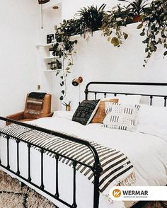 31 Trendy Apartment Living Room Decor Chic Home Bedroom Apartment, Home Decor Bedroom, Apartment Living, Diy Bedroom, Budget Bedroom, Apartment Chic, Trendy Bedroom, Apartment Interior, Bedroom Black