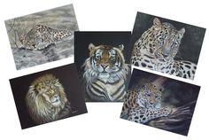 Pastel Artwork, Pastel Paintings, Amur Leopard, Big Cats, Original Art, Lion Sculpture, Wildlife, Greeting Cards, Etsy Shop