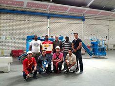 Grupo de MOVIMIENTO POR LA PAZ Curso de Plataforma Elevadora tipo 3B