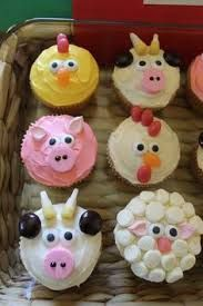animal cupcakes - Google Search
