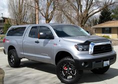 toyota tundra lifted camper shell - Google Search