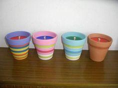 terra cotta pot crafts   Terra Cotta Pot Candle Manufacturer, Supplier & Exporter - ECPlaza