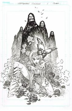 September Mourning by Marc Silvestri