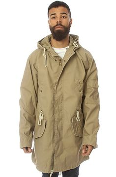 The Duster Jacket in Khaki, Alpha Industries