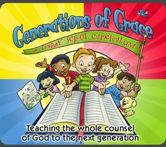 Teach the whole Bible to your children.  Lessons from Genesis to Revelation!
