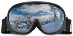 ALKAI Ski Goggles, Snowboard Goggles, Anti-Fog UV Protection, Double-Layer Spherical Lenses, Helmet Compatible Medium Fit Snow Goggles for Men & Women Best Ski Goggles, Snowboard Goggles, Ski And Snowboard, Alta Ski, Best Skis, Ski Fashion, Snowboards, Mens Glasses, Skiing