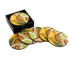 Citrus Coasters - Handmade Housewares from Annie Modica