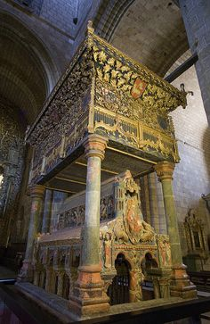 Shrine of San Vicente. Avila, Spain.