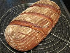 schnelles dunkles Buttermilchbrot « kochen & backen leicht gemacht mit Schritt für Schritt Bilder von & mit Slava
