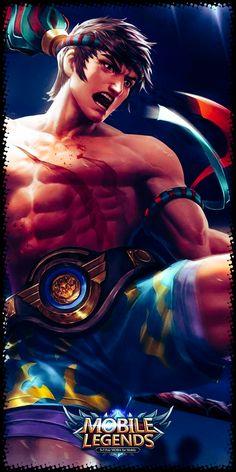 Mobile Legend Wallpaper, Hero Wallpaper, Alucard Mobile Legends, Kung Fu, Hip Hop, Branding, Night, Dark, Movie Posters