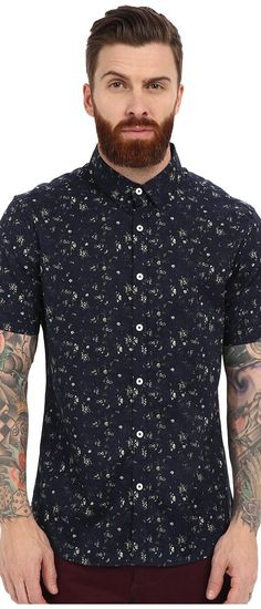 7 Diamonds Ride Out Short Sleeve Shirt (Navy) Men's Short Sleeve Button Up - 7 Diamonds, Ride Out Short Sleeve Shirt, SMK-5405-410, Apparel Top Short Sleeve Button Up, Short Sleeve Button Up, Top, Apparel, Clothes Clothing, Gift, - Street Fashion And Style Ideas
