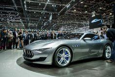 Maserati Alfieri concept car at 2014 Geneva Motor Show