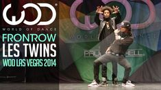 Les Twins (brothers from France)   FRONTROW   World of Dance Las Vegas 2014 #WODVEGAS
