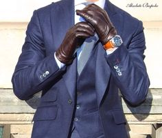 Mens Gloves, Leather Gloves, Leather Jacket, Fly Gear, Gents Fashion, Cold Weather Fashion, Formal Suits, Mens Style Guide, Gentleman Style