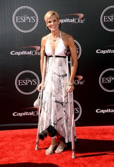 Pin for Later: Celebrities Share the Spotlight With Sports Stars at the ESPYs Dara Torres