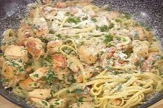 Get Bayou Chicken Pasta Recipe from Food Network