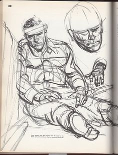 Austin Briggs . Character Sketch / Drawing