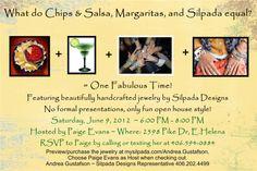 Chips, Salsa, Margaritas, & Silpada = Fabulous Time!