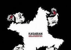 """""""Velociraptor"""" - Kasabian - 2011 -Let's roll just like we used to -Days are forgotten -Goodbye kiss -La fee verte -Velociraptor -Acid Turkish bath (shelter from the storm) -I hear voices -Re-Wired -Man of simple pleasures -Switchblade smiles -Neon noon Cool Album Covers, Music Album Covers, Music Albums, Fonda Theater, Pochette Album, Pop Rock, Great Albums, Top Albums, My Favorite Music"""