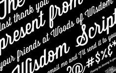 lost type : wisdom script