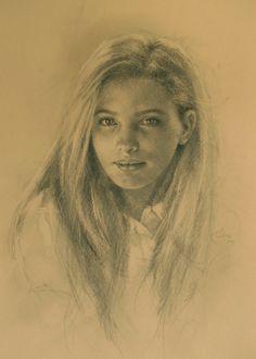 Liz Lindström - Charcoal Portraits