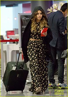 Vanessa Hudgens: 'Blonde Again' at LAX! | Vanessa Hudgens Photos | Just Jared