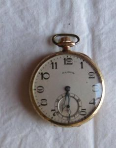 Pocket Watch Fahys Montaux Illinois Stewart 1923 by Illinois Stewart. $250.00. Pocket watch 17 jewels and gold case by Fahys Montaux, Illinois Stewart