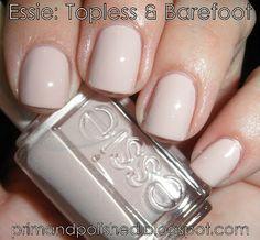 Essie's Topless & Barefoot