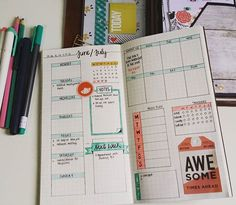 Next week's weekly layout in my #bulletjournal #bujojunkies #plannerlove #plannercommunity #plannerobsessed #plannerobsession #stationery #spread #plannerjunkie #weeklyspread #weeklylayout #planwithme #plannerlove #planneraddict #bulletjournaljunkies #bujo #bulletjournaling #travelersnotebook #midori #plannercrazy