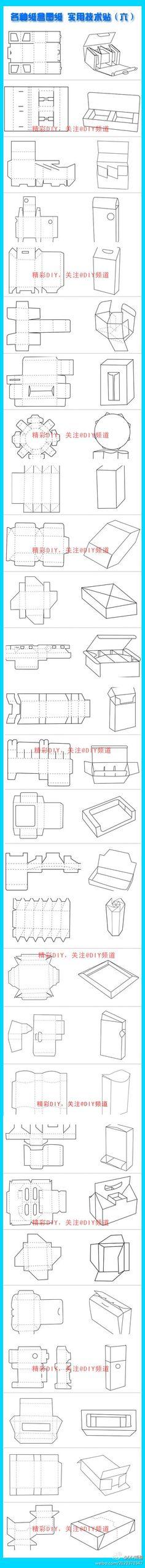 DIY纸盒子i ~…_来自sunqi0415的图片分享-堆糖网