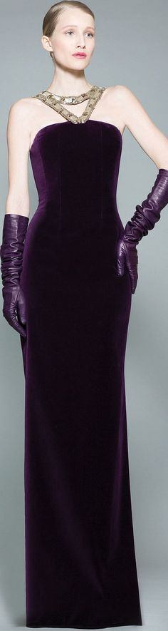 READY-TO-WEAR  GEORGES CHAKRA  FALL-WINTER 2015-2016