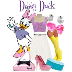 """Dapper Day 2013: Daisy Duck"" by bleeanco on Polyvore"