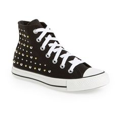 Women's Converse Chuck Taylor High Top Sneaker (€51) ❤ liked on Polyvore featuring shoes, sneakers, converse, high top lace up shoes, laced shoes, lacing sneakers, laced up shoes and converse footwear