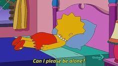 And sometimes it's just hard to pretend it doesn't bother you. | A Pep Talk From Lisa Simpson