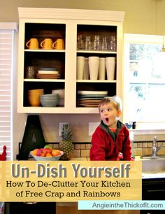 Un-dish Yourself br/(How to De-Clutter Your Kitchen of Free Stuff and Rainbows)
