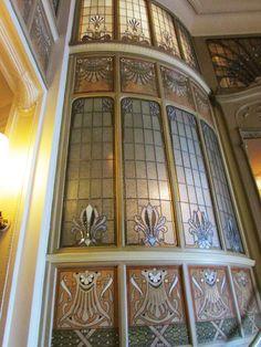Art Nouveau design...Victor Horta (1861-1947)