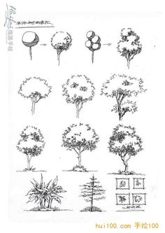 Architectural sketches 786933734875430480 - Ideas Drawing Architecture Sketches Trees Source by Croquis Architecture, Architecture Concept Drawings, Landscape Architecture Drawing, Landscape Sketch, Landscape Drawings, Plant Sketches, Tree Sketches, Nature Drawing, Plant Drawing