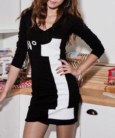 Youthful Letter Print Long Sleeve Stretchy Cotton Blend Slimming Dress For Women Wardrobe Makeover, Skinny Shorts, T Shirt World, White Women, Cotton Dresses, Dresses Online, Fashion Design, Women's Fashion, Dress Fashion