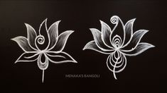 Simple Rangoli Border Designs, Indian Rangoli Designs, Rangoli Designs Flower, Free Hand Rangoli Design, Rangoli Borders, Small Rangoli Design, Rangoli Patterns, Rangoli Ideas, Rangoli Designs With Dots
