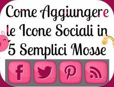 Come Aggiungere le Icone Sociali sul tuo Blog
