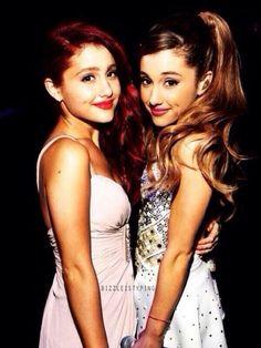 Cat and Ariana Grande!