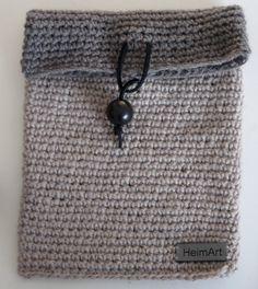 Crochet Pocket Bag by HeimArt on Etsy, £9.00