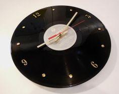 JOHN MAYER Record Clock Continuum by RecordsAndStuff on Etsy, $28.00