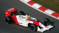 Ayrton Senna - McLaren MP4-4 - 1988